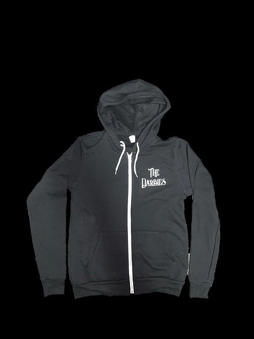 Black Hoodie w/zipper light