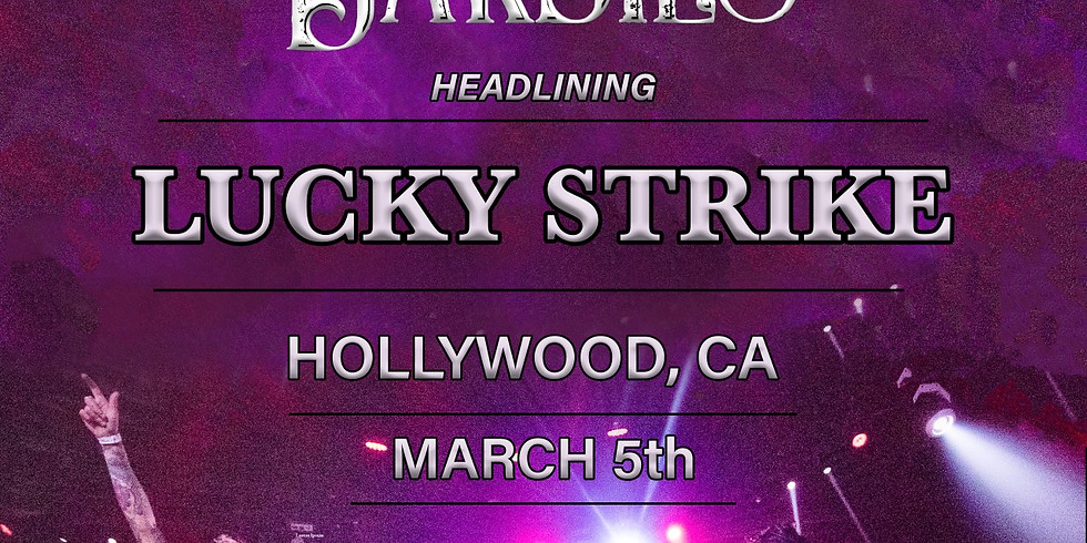 The Darbies live @Lucky Strike, Hollywood