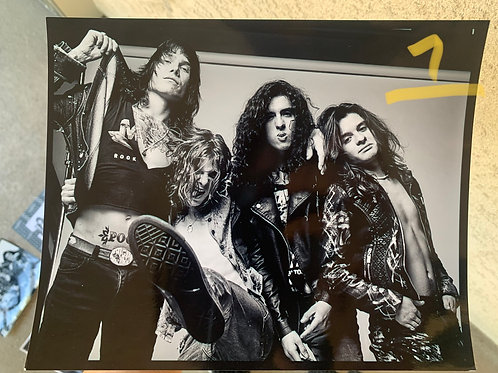 """Studio Session Posters (10.5"""" x 8"""") (Signed)"""