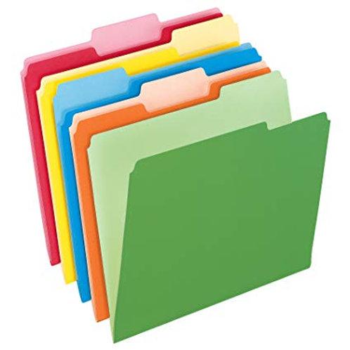 Folders Manila Colors