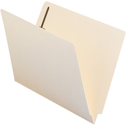 Folder Manila carta con 1 fastener