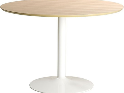 "Round Conference Table 48"" with Trumpet Base"