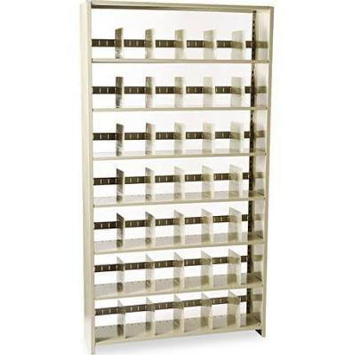 "Letter Size 76""High Shelving 7 Shelves"