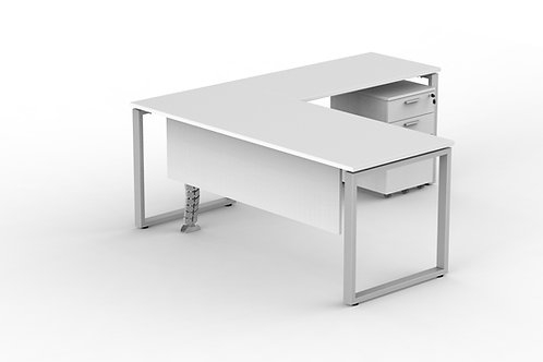 Simetrical L Shape Desk