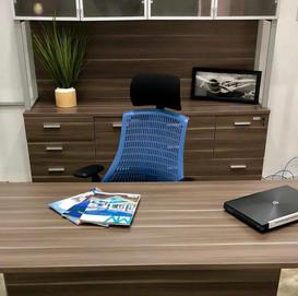 Executive Desk Natural Wenge Linosa