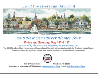 New Bern River Homes Tour