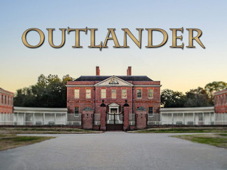 Outlander comes to Tryon Palace!!  Can't get enough!