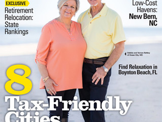 "New Bern Featured in  ""Where to Retire Magazine"""