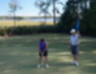 Golfing in Fairfield Harbour