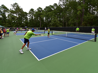 Fairfield Harbour PickleBall courts are complete and open for play!