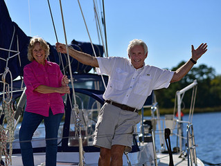 Around the World in 10 years - A Circumnavigation by Stuart and Shelia Stovall. Part I