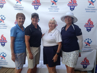 Fairfield Harbour lady athletes rock the National Senior Games