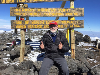 Altitude and Attitude–Climbing Mt. Kilimanjaro
