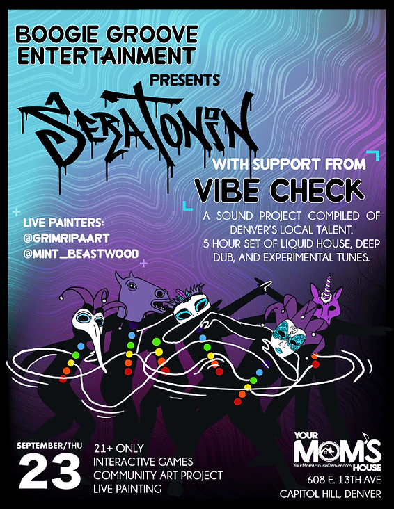 VIBECHECK Event Flyer