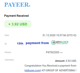 12th payment proof ATIBUXER.png