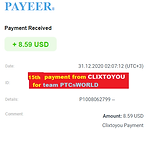 15th payment proof CLIXTOYOU.png