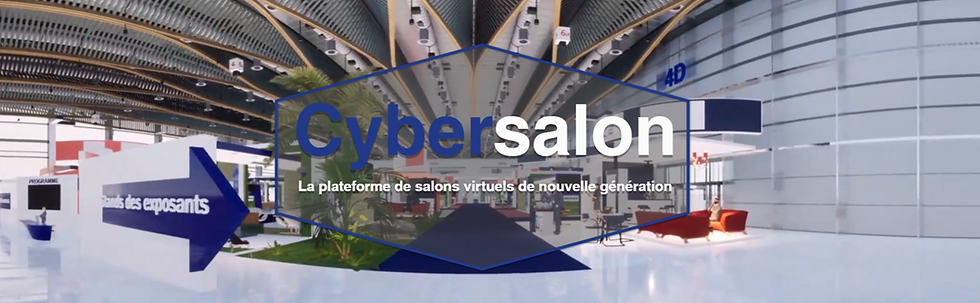 Cybersalon - salon virtuel immersif par