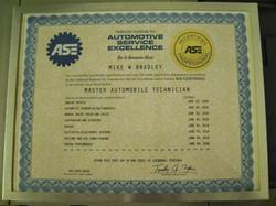 Auto Repair in Justin, ASE Cert