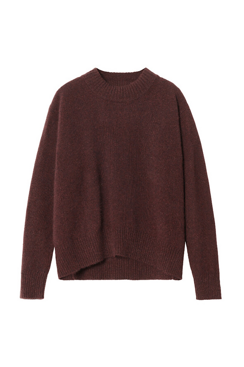 PULLOVER Warm brown