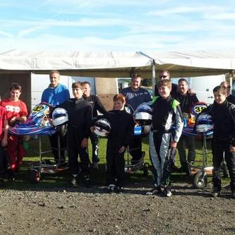 Rissington Kart CLub Team Photo