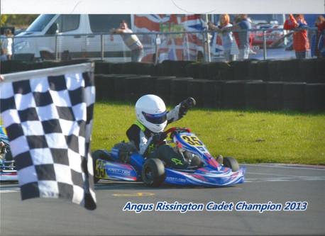 Rissington Kart Club Win