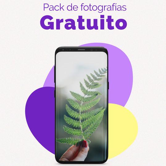 ¡Pack regalo de 10 fotografías profesionales!