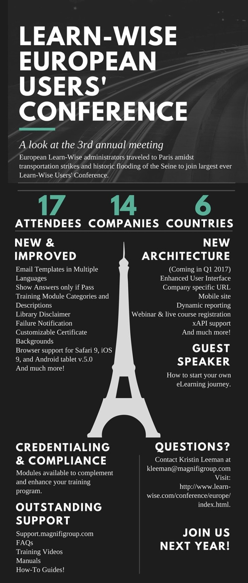Learn-WiseEuropeanUsers' Conference