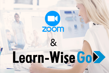 Use Zoom for webinars with Learn-WiseGo!