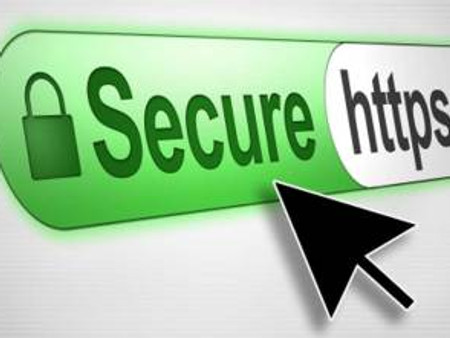 Increased Site Security with Secured Socket Layer (SSL)