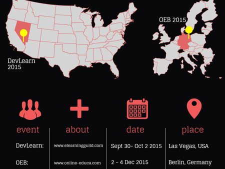 Map It Out: A Look at Upcoming eLearning Conferences