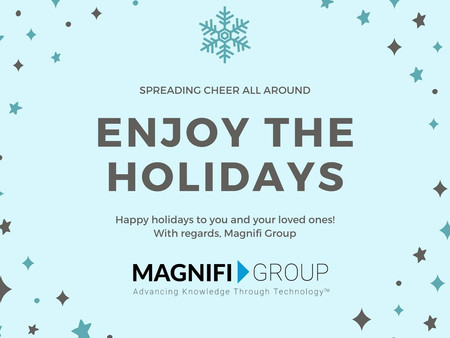 Happy Holidays from Magnifi Group