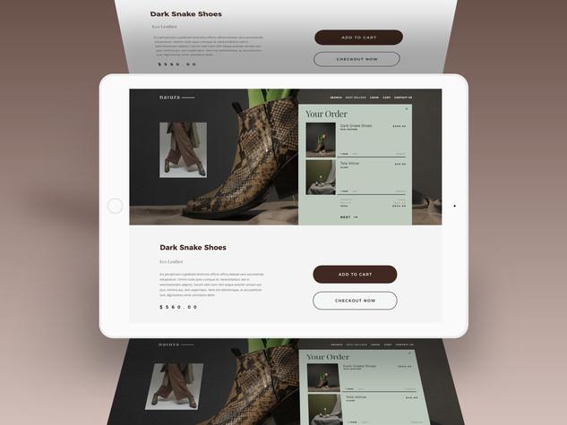 Natura Landing Page