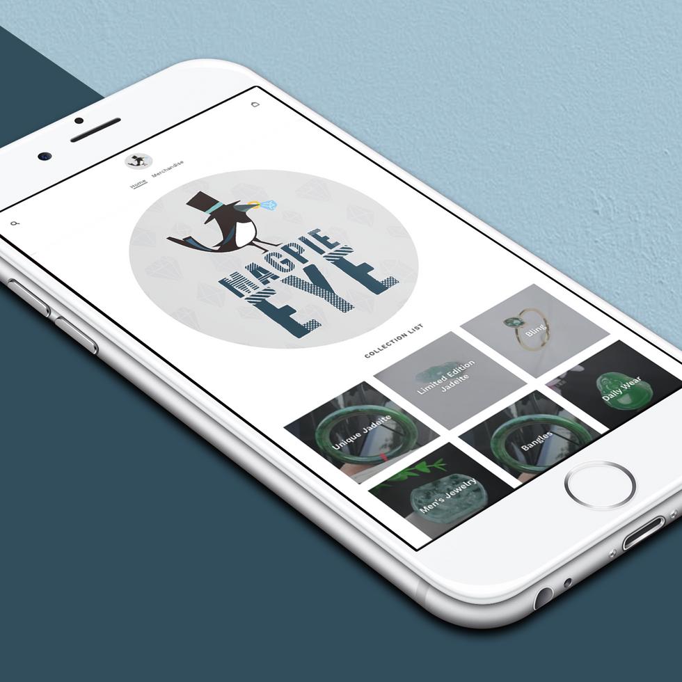Magpie Eyes Mobile Icon