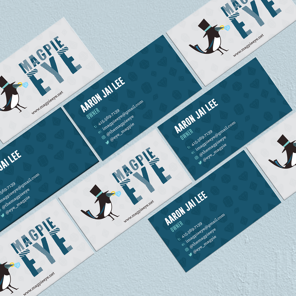 Business Cards- Front and Back