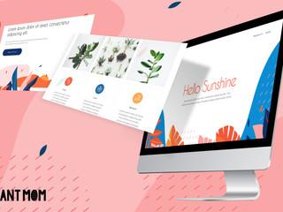 Plant Mom Landing Page