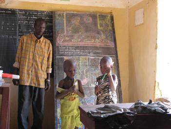 Diawambé: cours de calcul, février 2008