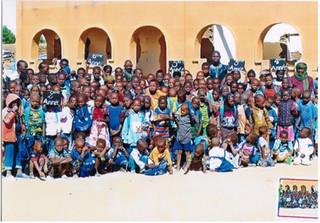 Nampala: les enfants de l'école fondamentale, novembre 2017