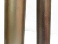 """Tubos de metal dorado 2"""""""