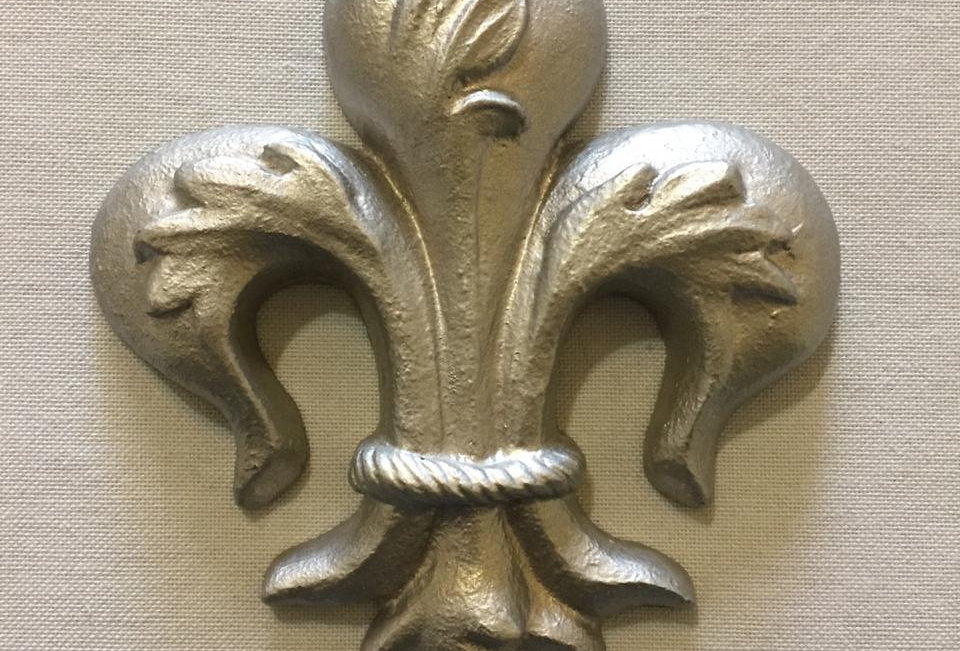 Chapetón flor de liz