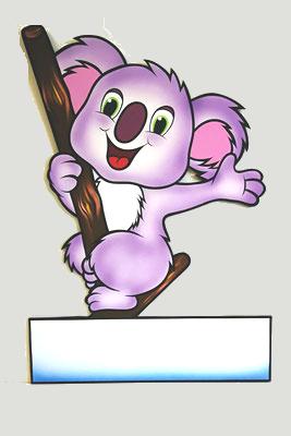 Geburtstafel Koala