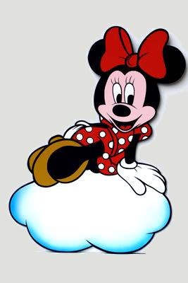 Geburtstafel Minnie Maus