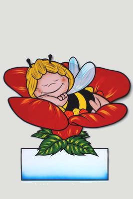 Geburtstafel Biene Maya