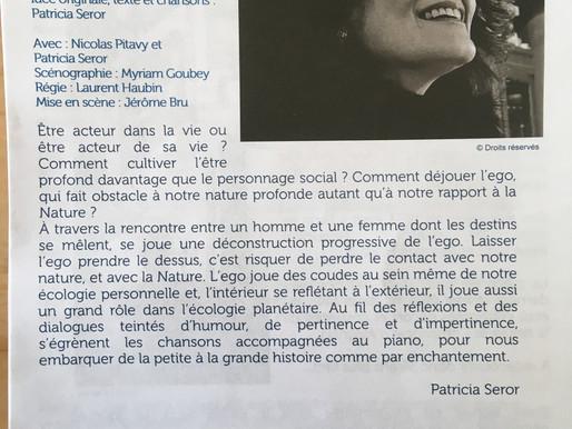 Bibliothèque d'Avignon - Lecture jouée et chantée - 11 juillet 2020