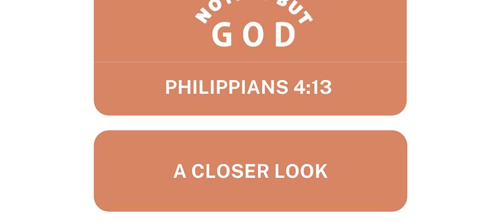 Phil. 4:13 Scriptural Study