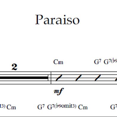 Paraiso - Lead Sheet PDF