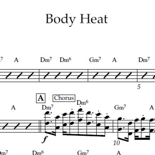 Body Heat - Lead Sheet PDF