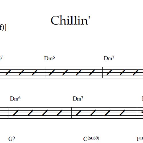 Chillin' - Lead Sheet PDF