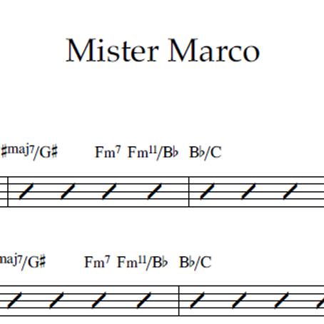 Mister Marco - Lead Sheet PDF