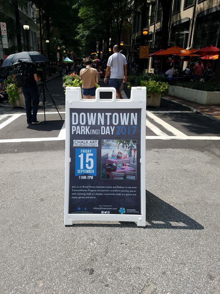 Parking Day Downtown Atlanta