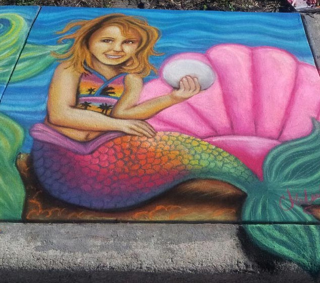 Mermaid Chalk